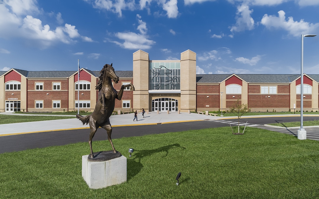 Groveport Madison High School, Auditorium & Gym