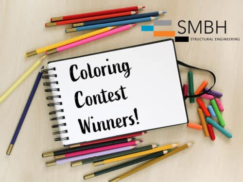 Coloring Contest Collateral - Winner Announcement