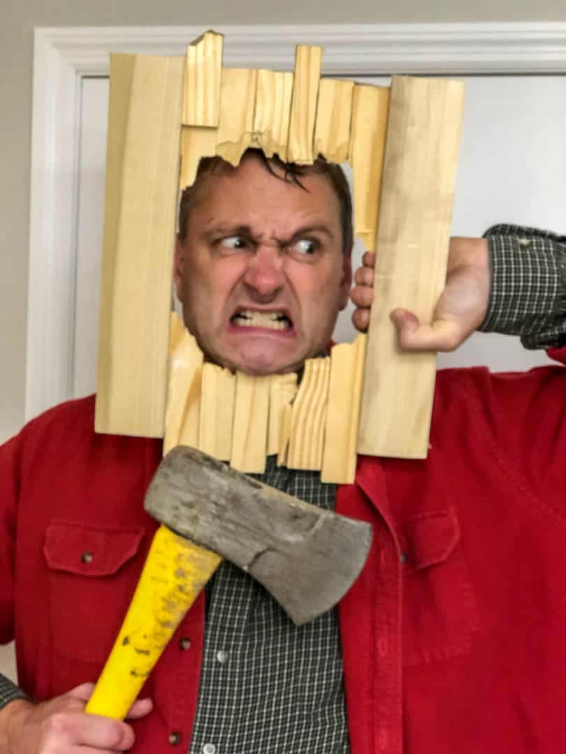Greg Barsch as The Shining, Winner of Scariest Costume