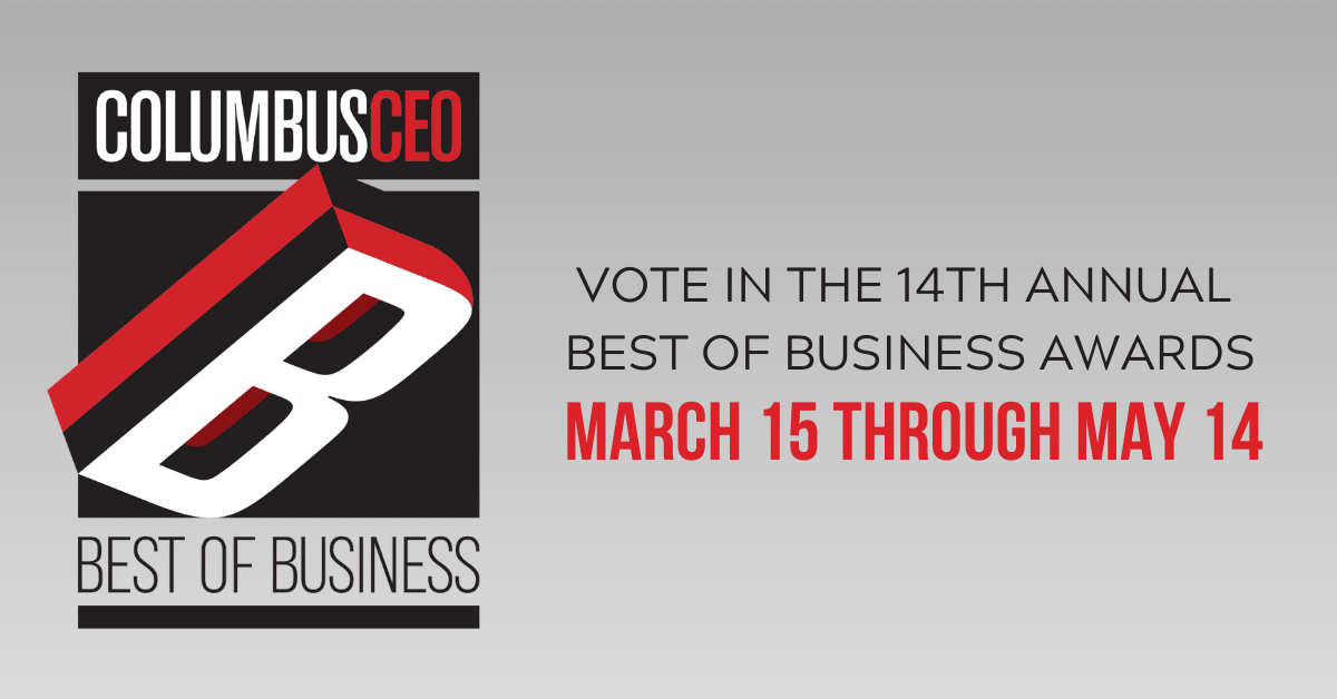 ColumbusCEO Best of Business 2021 Logo