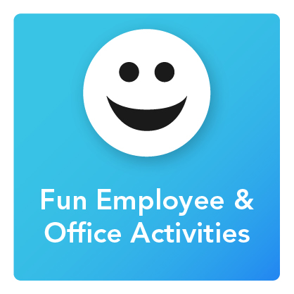 Fun Employee & Office Activities: An icon of a smiling face
